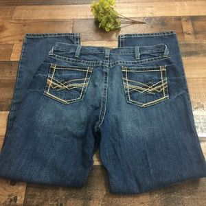 Ariat M2 Relaxed Fit Boot Cut Jeans Sz. 36 x 34
